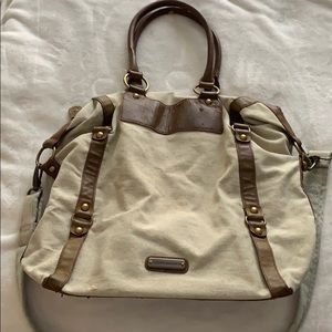 Steve Madden Bach/tote, tan and light brown